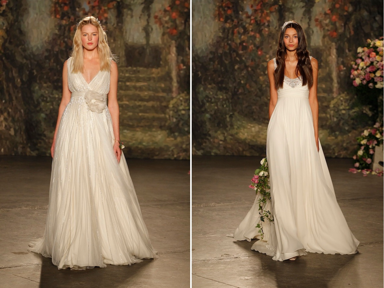 Jenny Packham's Enchanting Spring 2016 Bridal Collection - Phebe & Ophelia