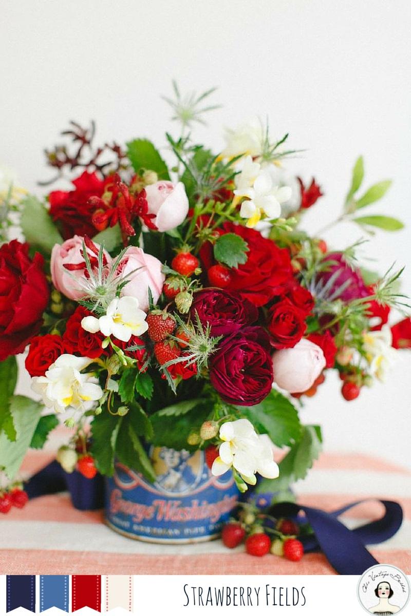 5 Beautiful Summer Wedding Colours - Strawberry Fields