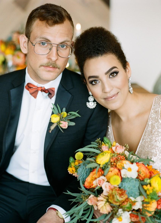 Vintage Bride & Groom - Mid-Century Wedding Inspiration