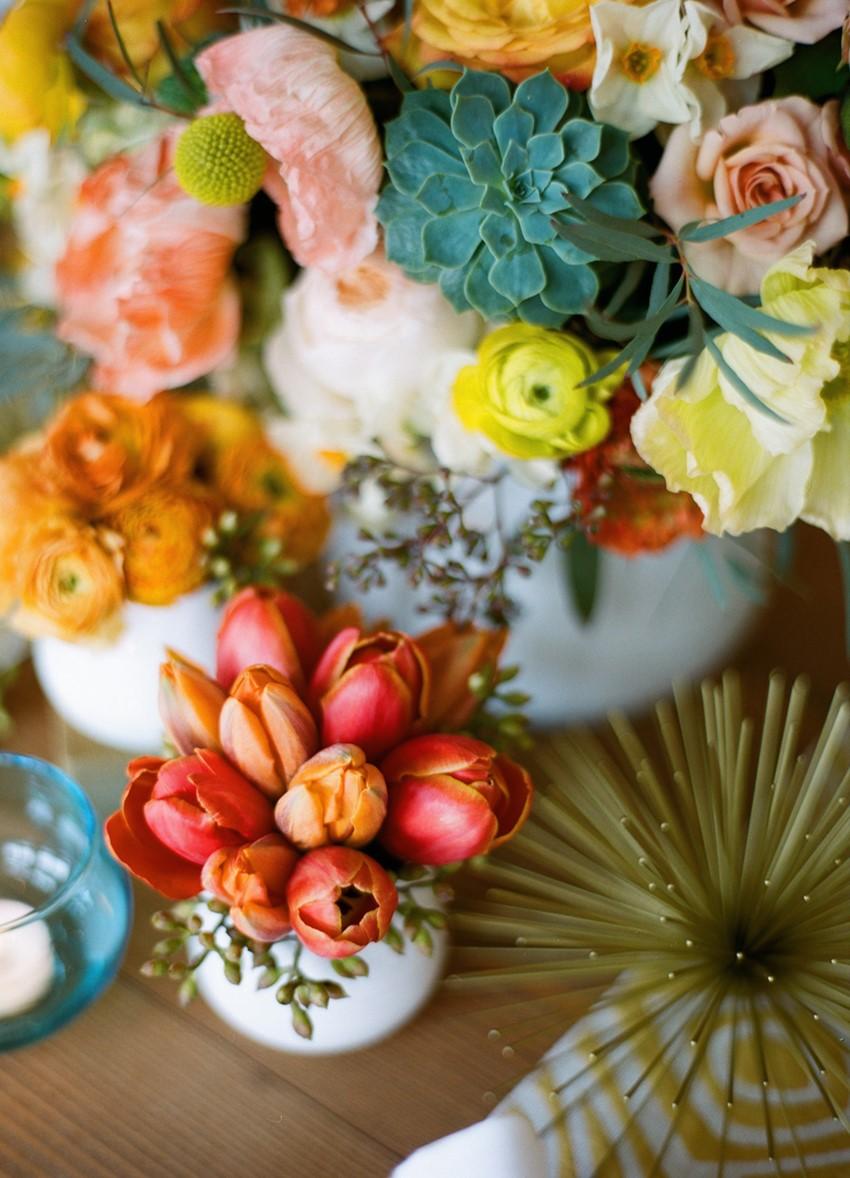 Fabulous Mid-Century Wedding Inspiration