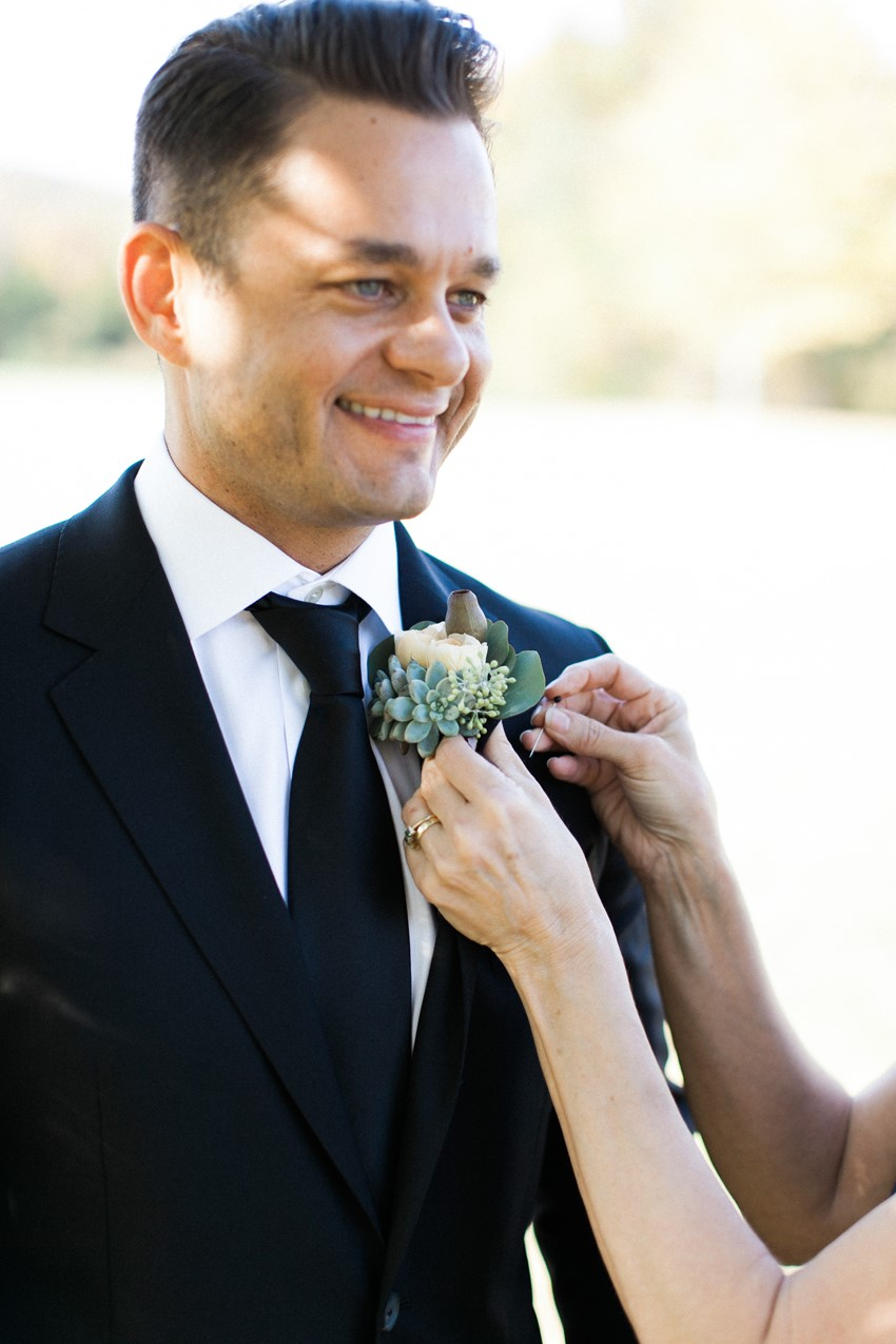 Groom - An Elegant & Intimate Autumn Wedding
