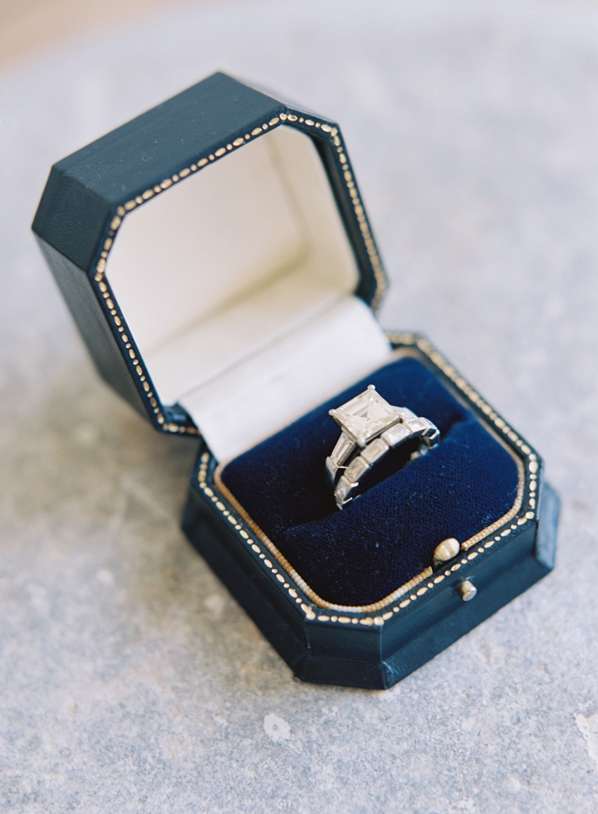 Engagement Ring - An Elegant & Intimate Autumn Wedding