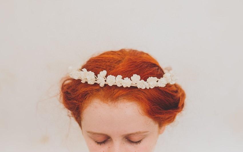 Beautiful Vintage Wax Flower Crowns from Waxflower Vintage