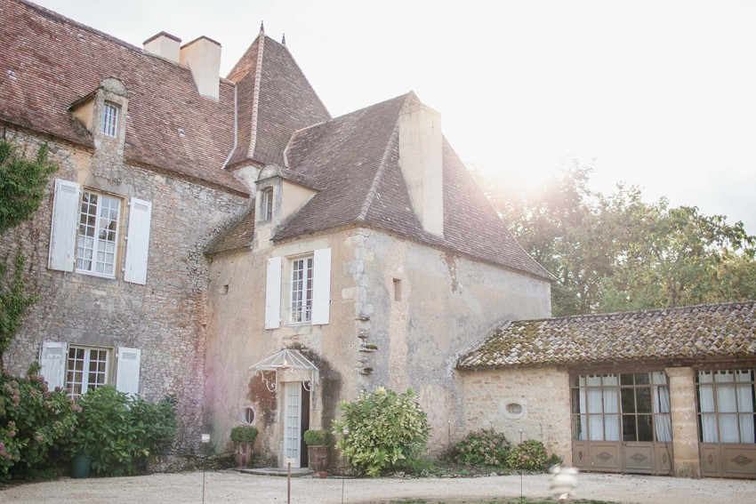 A Heavenly Destination Wedding at a Chateau in the Dordogne