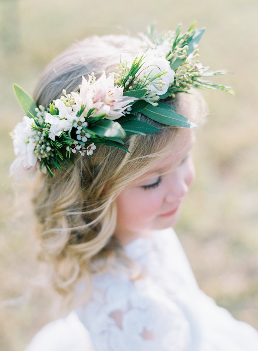 Flower Girl - An Elegant & Intimate Autumn Wedding
