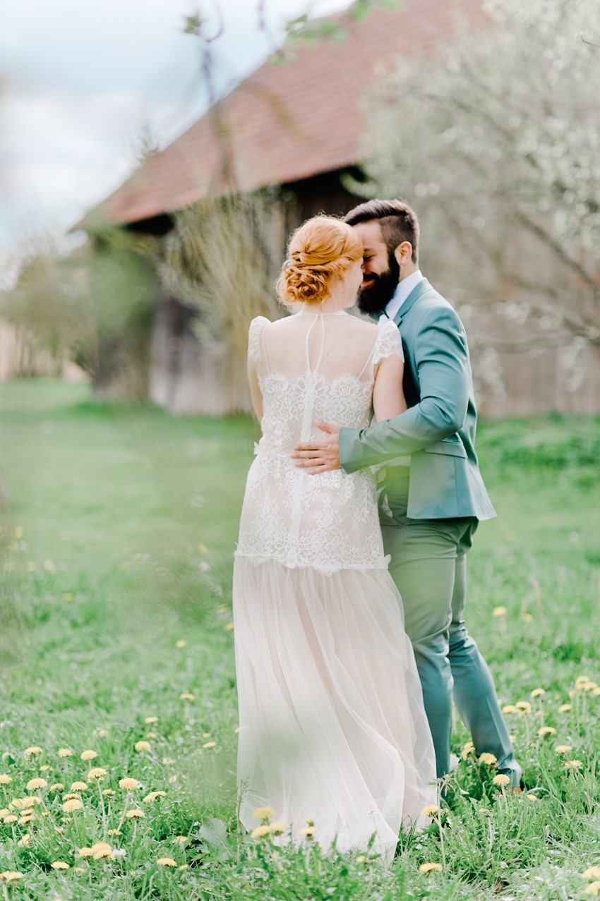Romantic Spring Wedding Inspiration