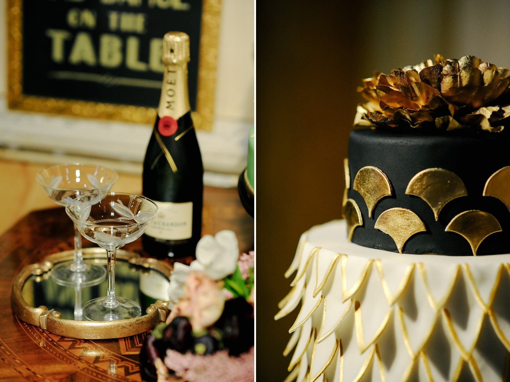Elegant 1920s Wedding Inspiration in the Heart of Rome