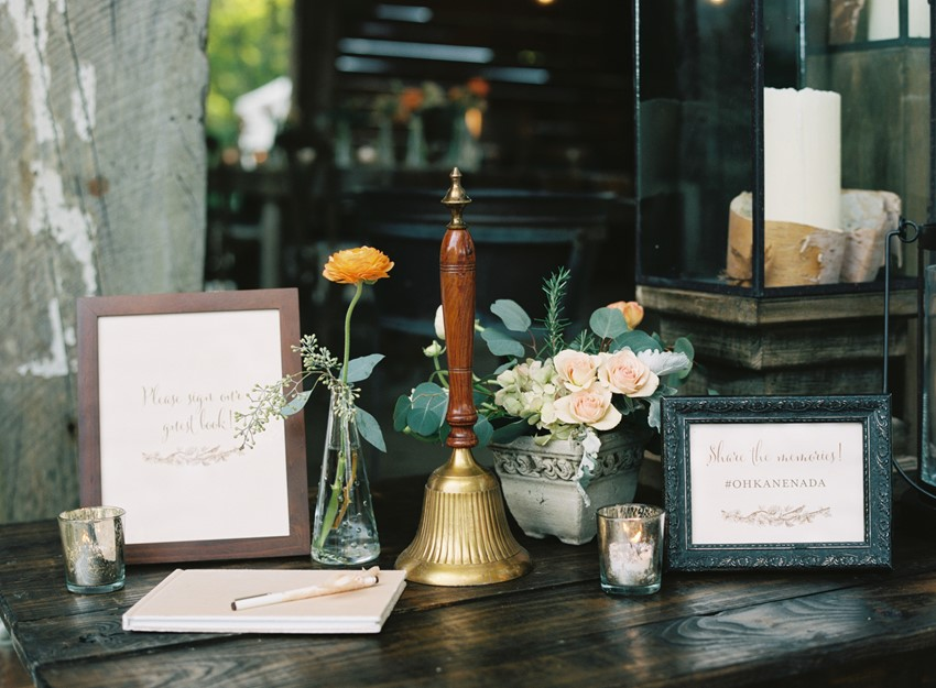 An Elegant & Intimate Autumn Wedding