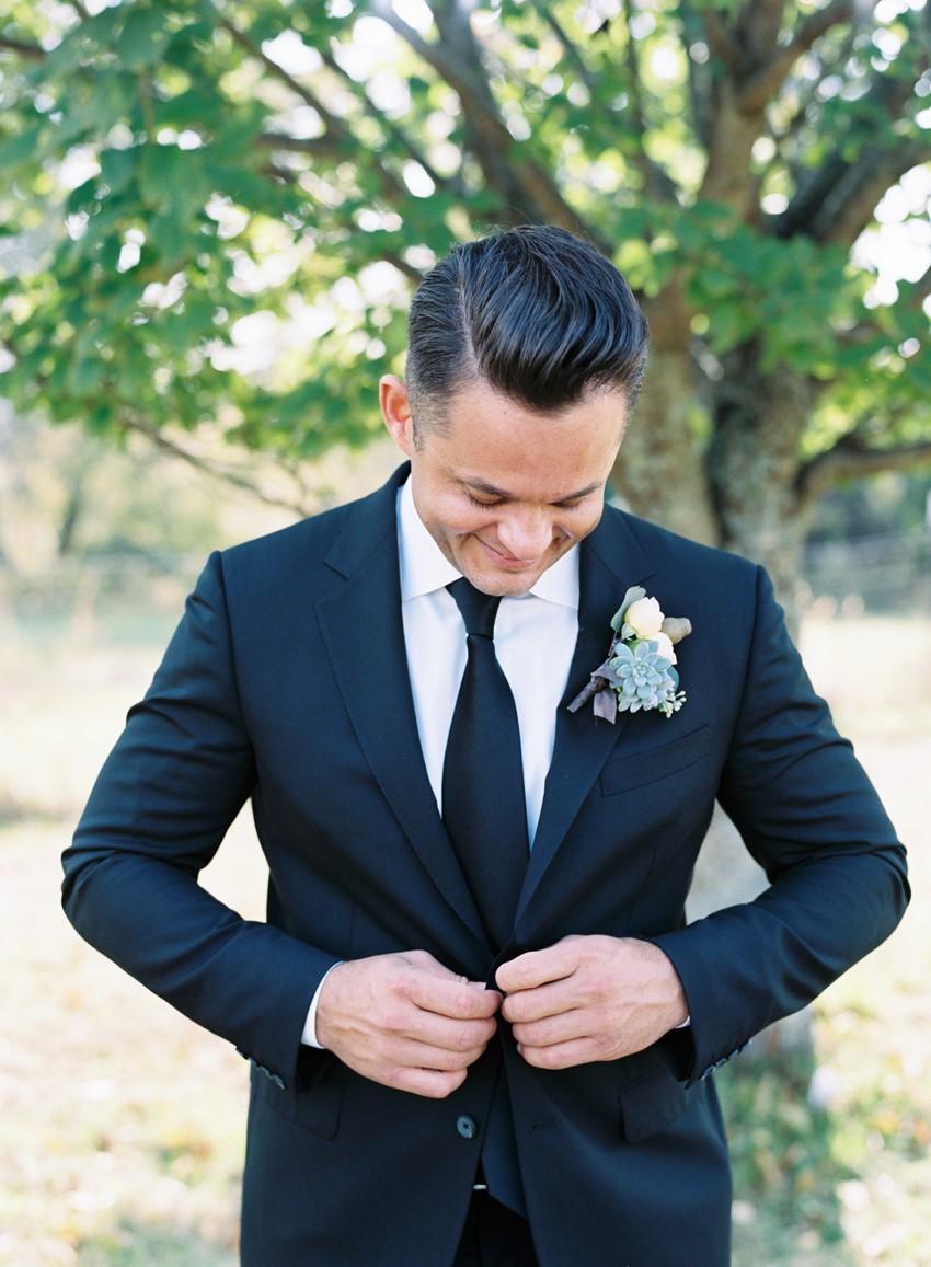 Dapper Groom - An Elegant & Intimate Autumn Wedding