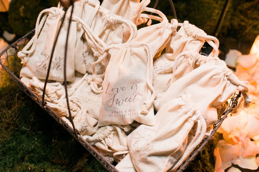 DIY Wedding Favours - An Elegant & Intimate Autumn Wedding