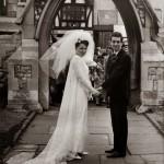 Chic Vintage 1960s Bride - Valerie Carter