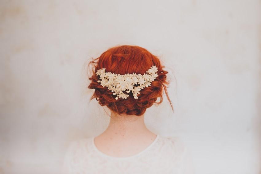 Beautiful Vintage Bridal Flower Crowns from Waxflower Vintage