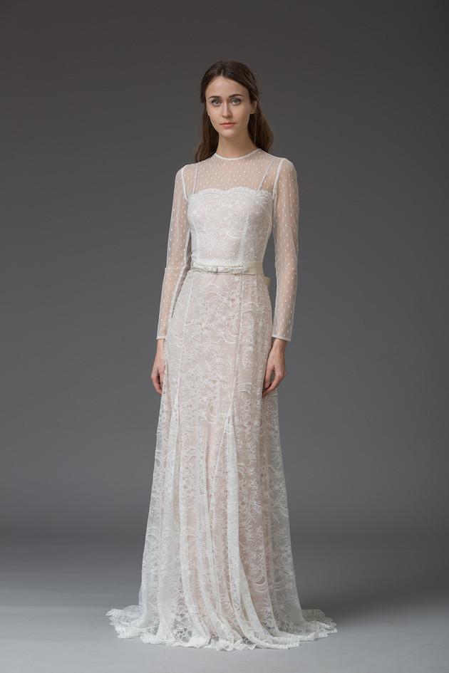 Francesca - from 'Venice' Katya Katya Shehurina's Enchanting 2016 Bridal Collection