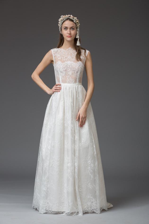 Nicole - from 'Venice' Katya Katya Shehurina's Enchanting 2016 Bridal Collection