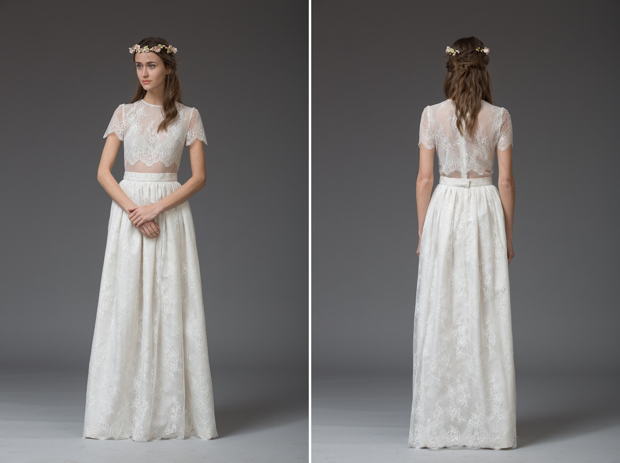 Vera - from 'Venice' Katya Katya Shehurina's Enchanting 2016 Bridal Collection
