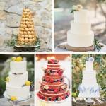 Stunning & Scrumptious Summer Wedding Cakes