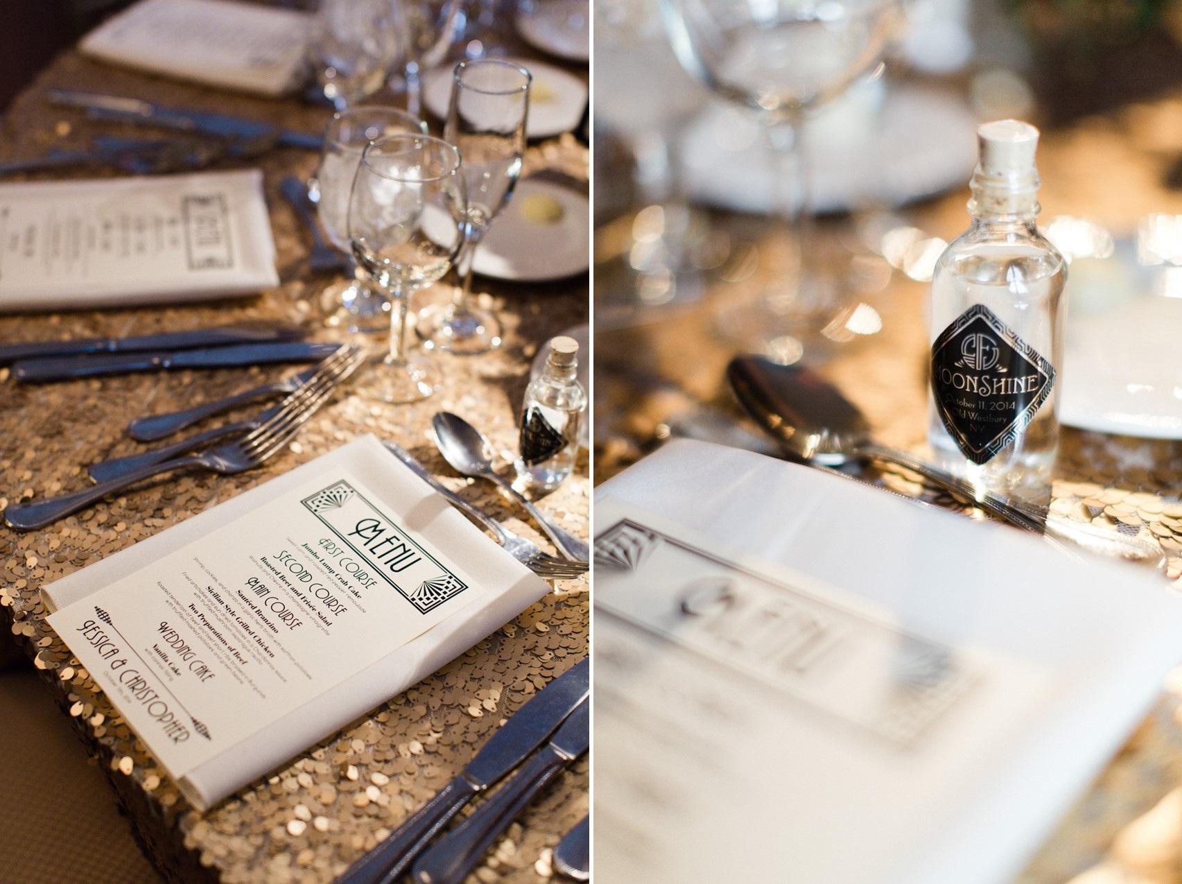 A Classically Elegant Art Deco Wedding in Marsala & Gold