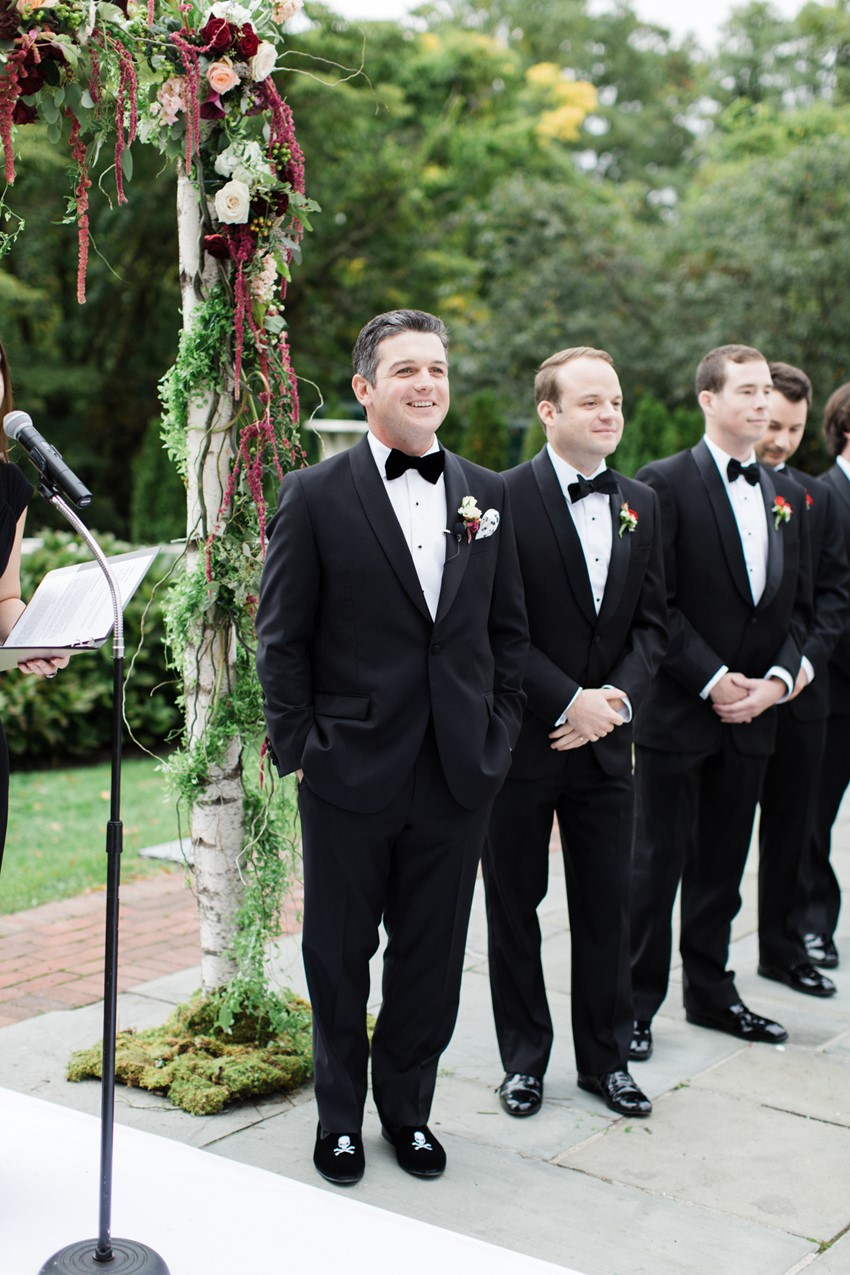 A Classically Elegant Wedding with a Dash of Deco Glamour