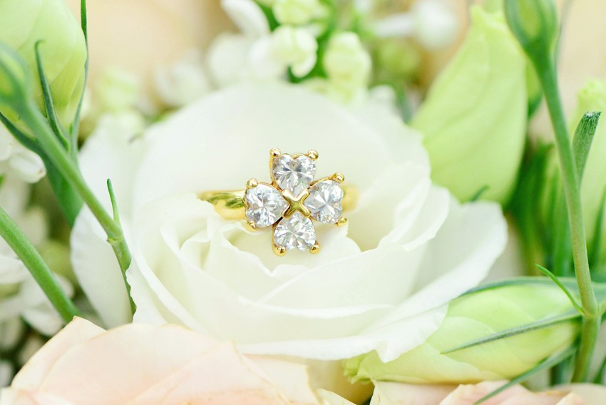 "Vintage Engagement Ring - ""A Lifetime of Love"" Wedding Inspiration"