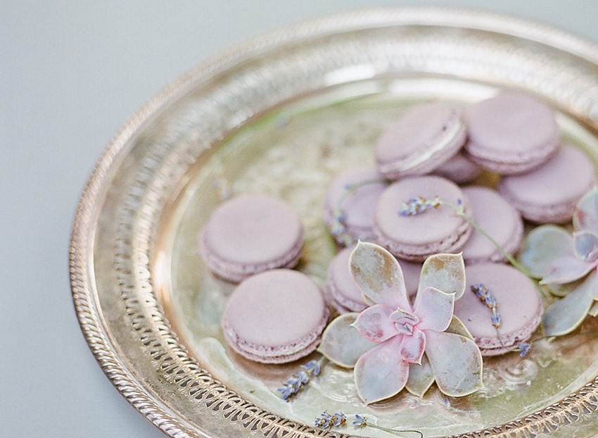 Sweet 1950s Inspired Wedding Ideas in Lavender & Green