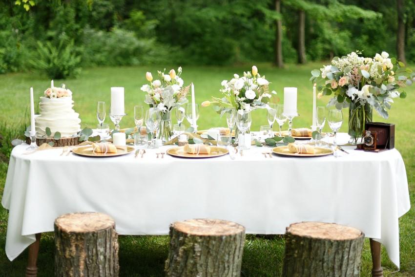 "Spring Wedding Tablescape - ""A Lifetime of Love"" Wedding Inspiration"