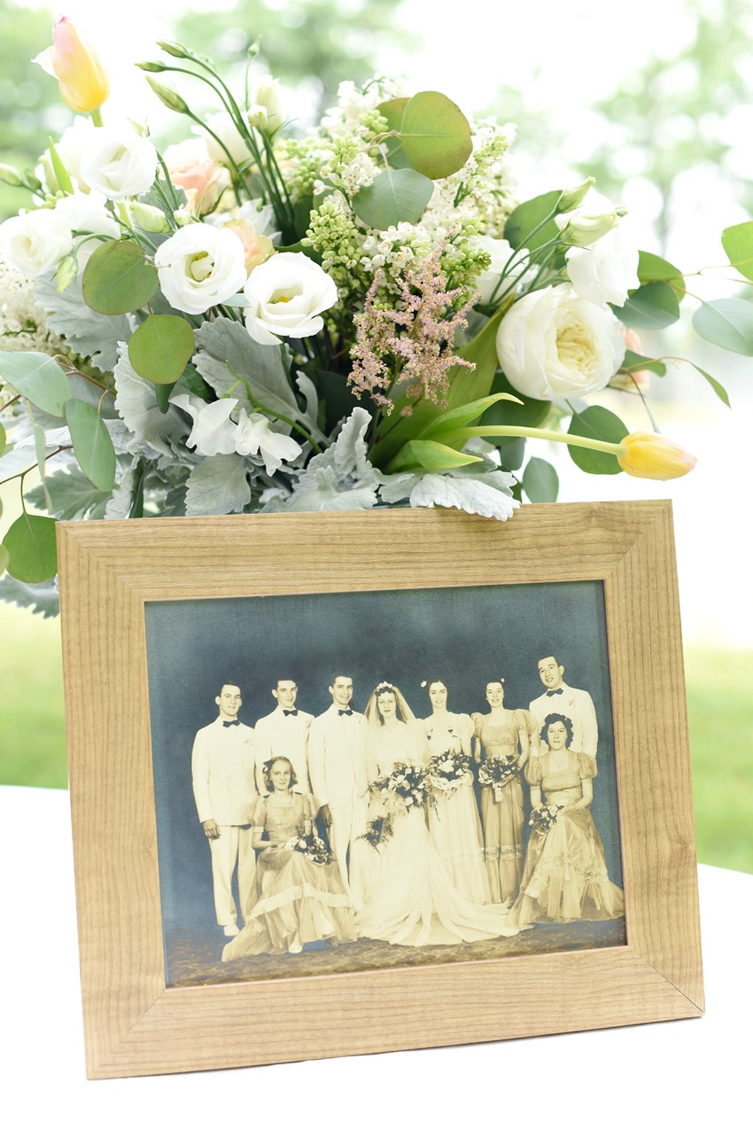 "Vintage wedding photograph - ""A Lifetime of Love"" Wedding Inspiration"