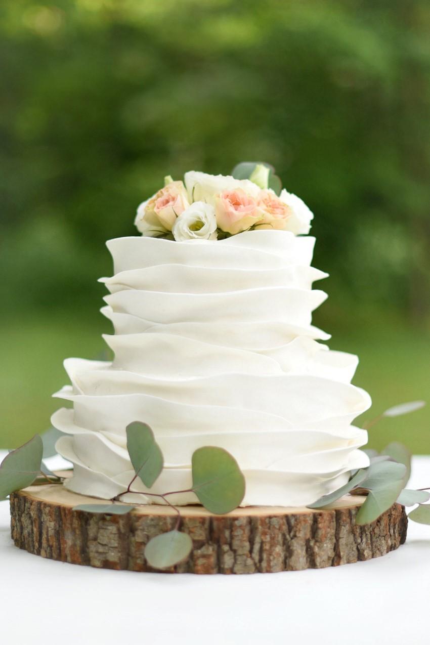 "Wedding Cake - ""A Lifetime of Love"" Wedding Inspiration"