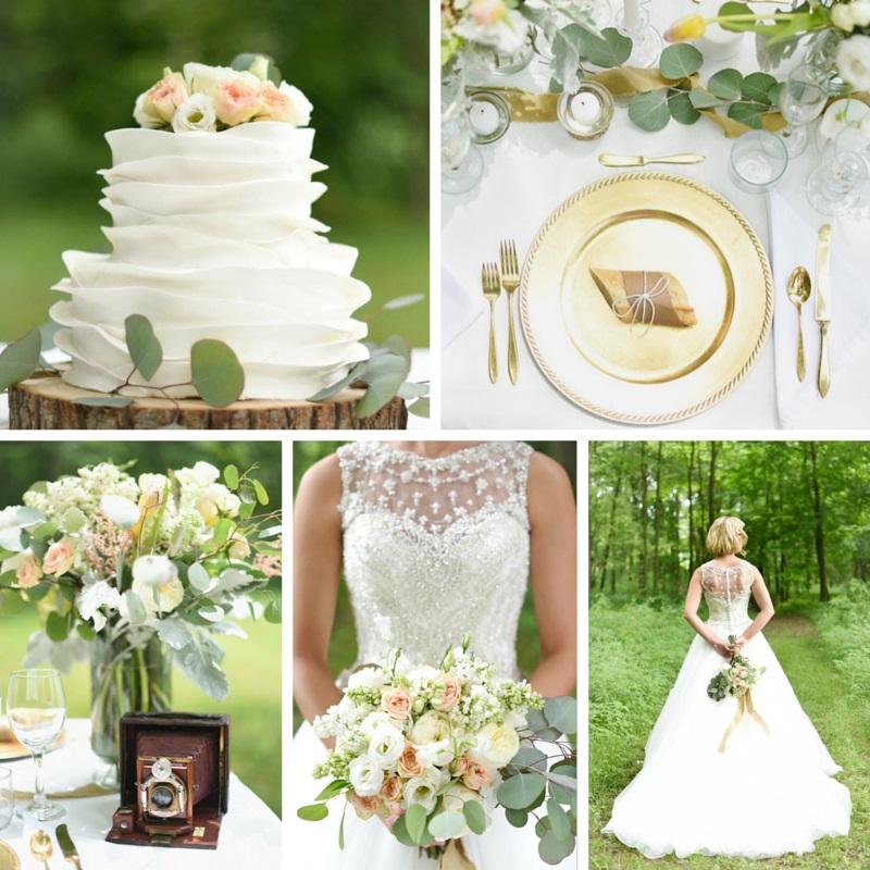 """A Lifetime of Love"" Modern Vintage Wedding Inspiration"