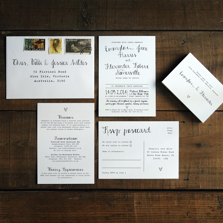 20 Decadently Art Deco Wedding Invitations