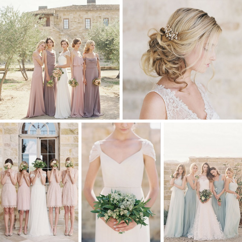 Elegant & Romantic Bridesmaids Dresses from Jenny Yoo