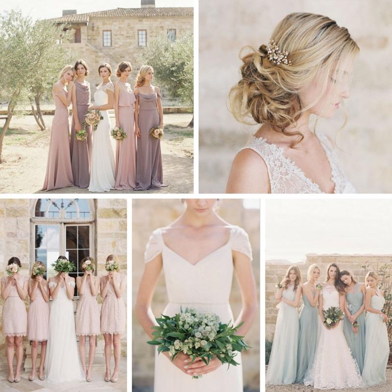 The Most Romantic Elegant Bridesmaid Dresses Chic Vintage Brides