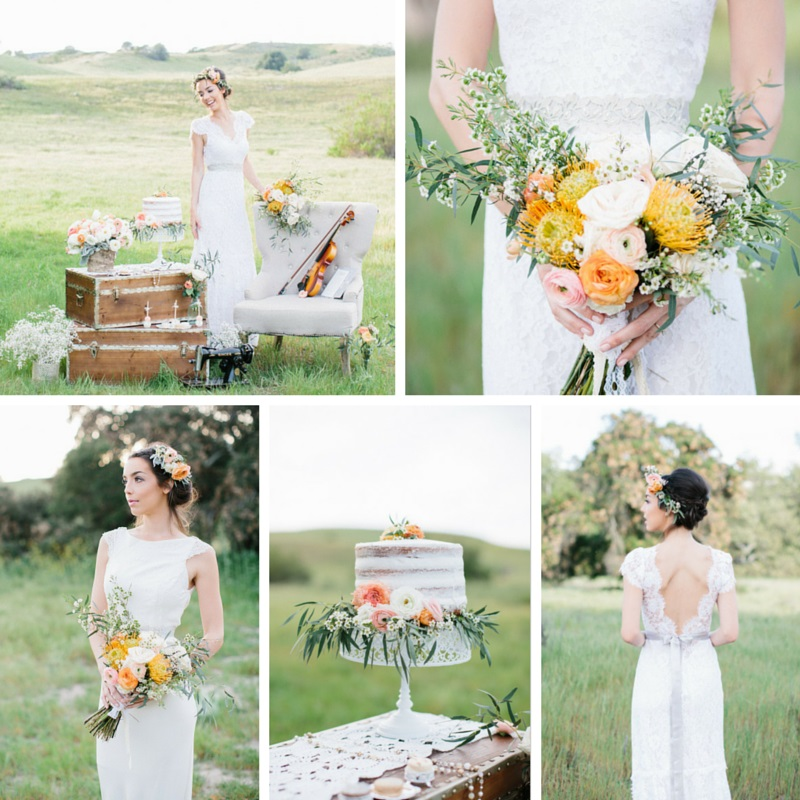 """Fields of Love"" Summer Wedding Inspiration"
