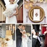 Opulent 1930s Wedding Inspiration