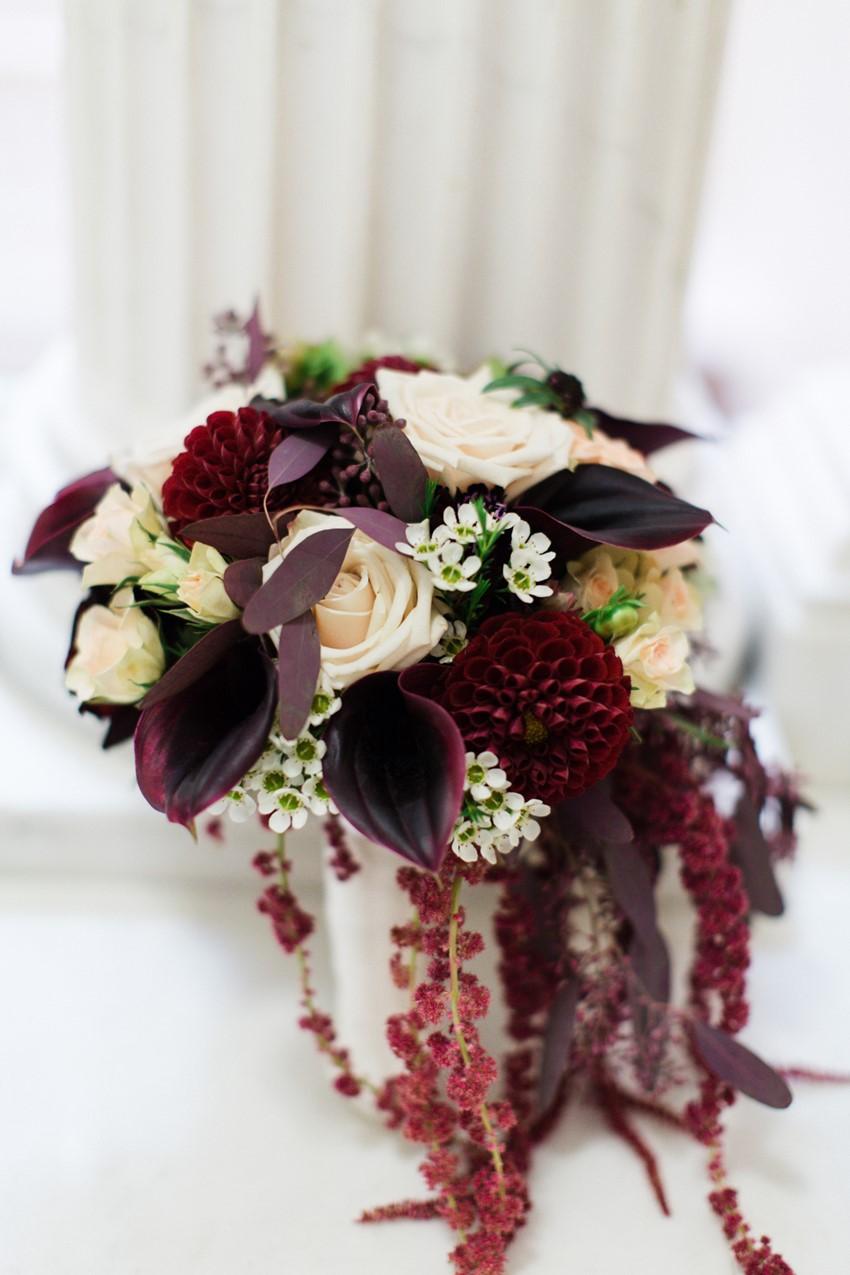 A Classically Elegant Wedding with a Dash of Deco Glamour