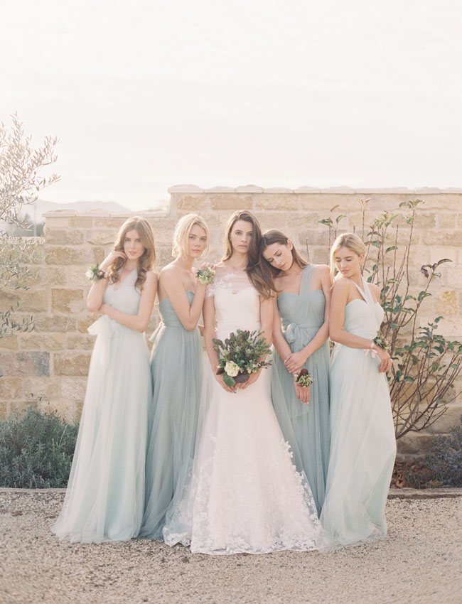 Elegant & Romantic Convertible Bridesmaid Dress from Jenny Yoo
