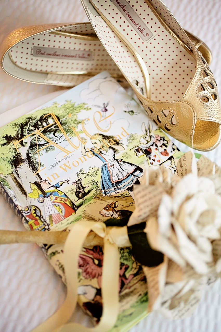 A Whimsical 'Alice In Wonderland' Themed DIY Wedding from Marie-Michele Hayeur Photography