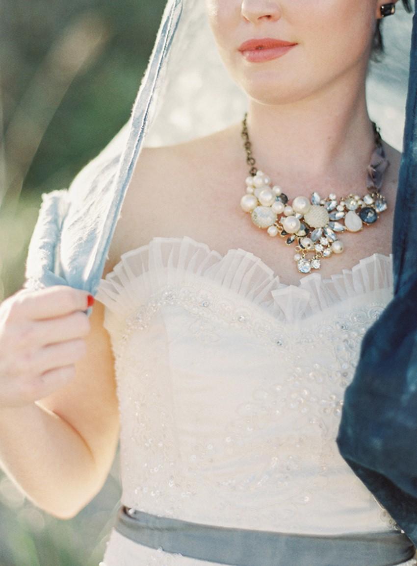 Beach Bride - 'Sea of Love' A Heavenly Beach Wedding Inspiration from Melanie Gabrielle Photography