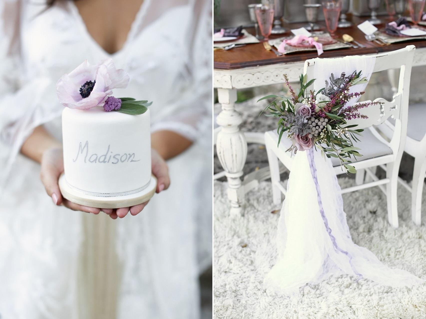 Romantic Wedding Inspiration with Vintage Boho Elegance from Flora Fetish