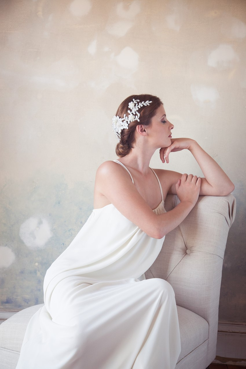 A New Collection of Exquisite Vintage Inspired Bridal Hair Accessories from Gilded Shadows