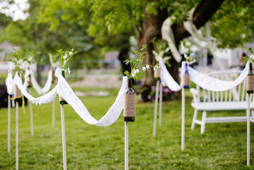 A Vintage Garden Wedding Infused with Edwardian Elegance Chic