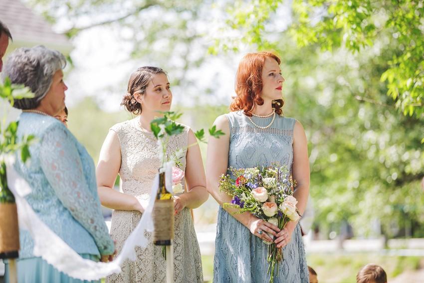 A Vintage Garden Picnic Wedding with Edwardian Elegance