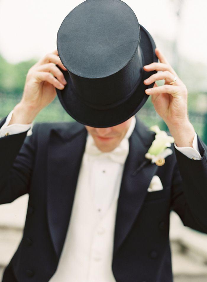 Art Deco Groom's Attire - Morning Suit