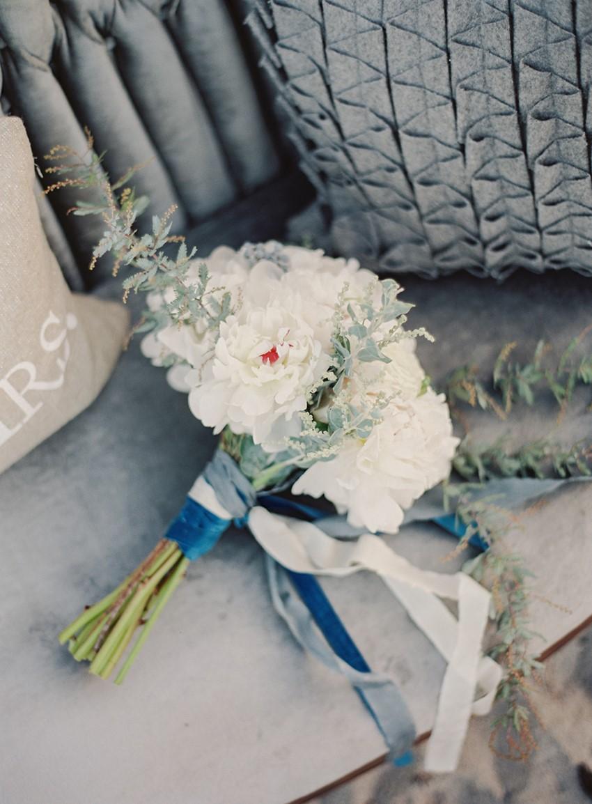 Wedding Bouquet - 'Sea of Love' A Heavenly Beach Wedding Inspiration from Melanie Gabrielle Photography