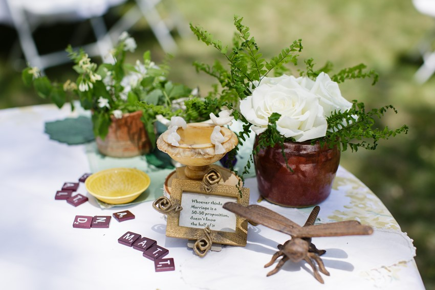 A Vintage Garden Picnic Wedding with Edwardian Elegance