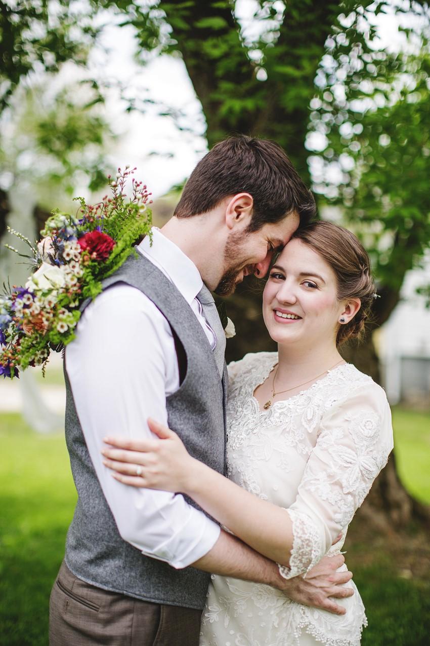 Bride & Grooms - A Vintage Garden Wedding