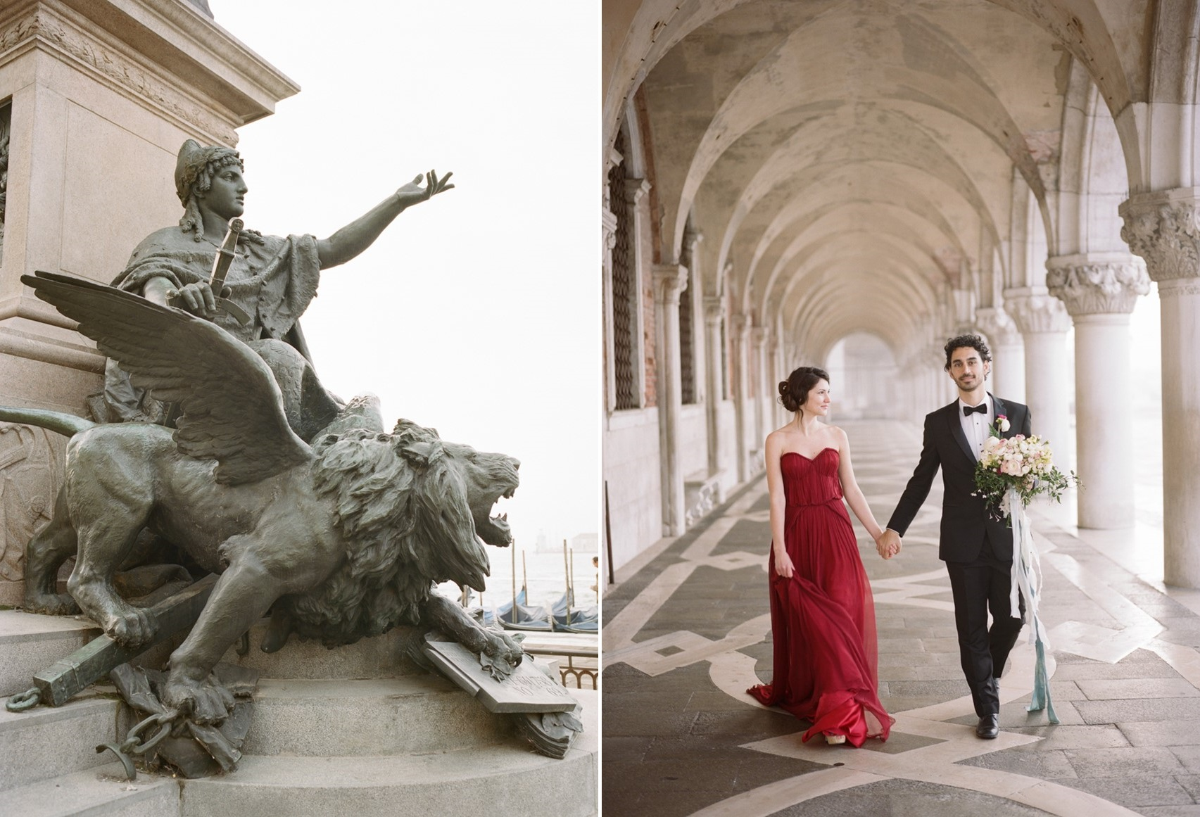 A Beautifully Romantic Venice Elopement