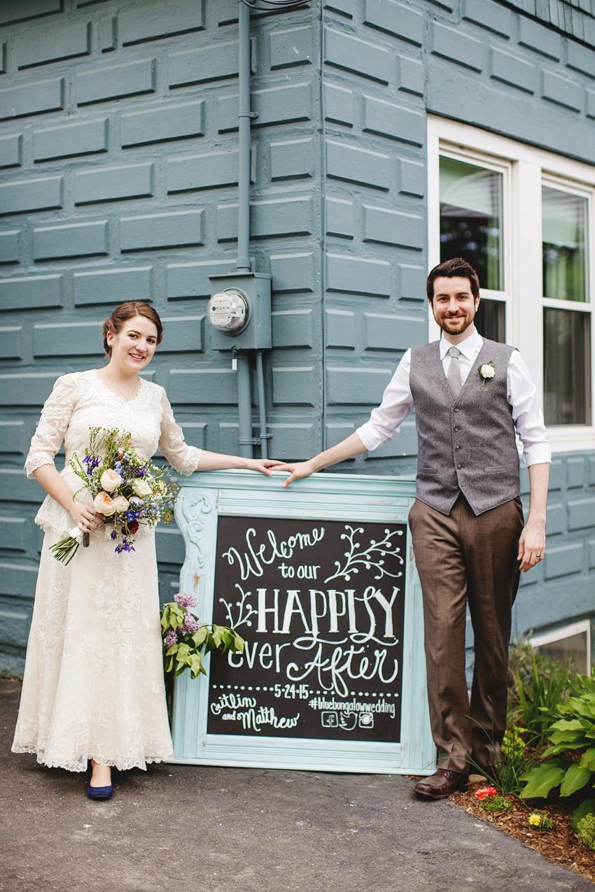 A Vintage Garden Wedding