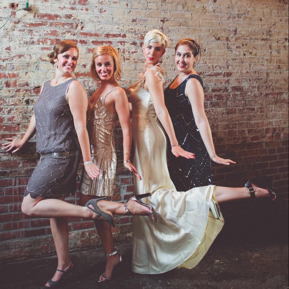 20 fabulous art deco bridesmaid dresses chic vintage brides ombrellifo Choice Image