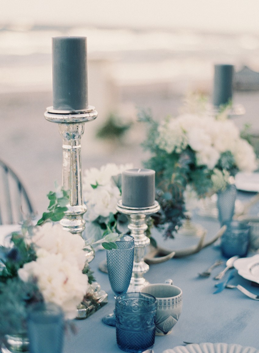 'Sea of Love' A Heavenly Beach Wedding Inspiration from Melanie Gabrielle Photography