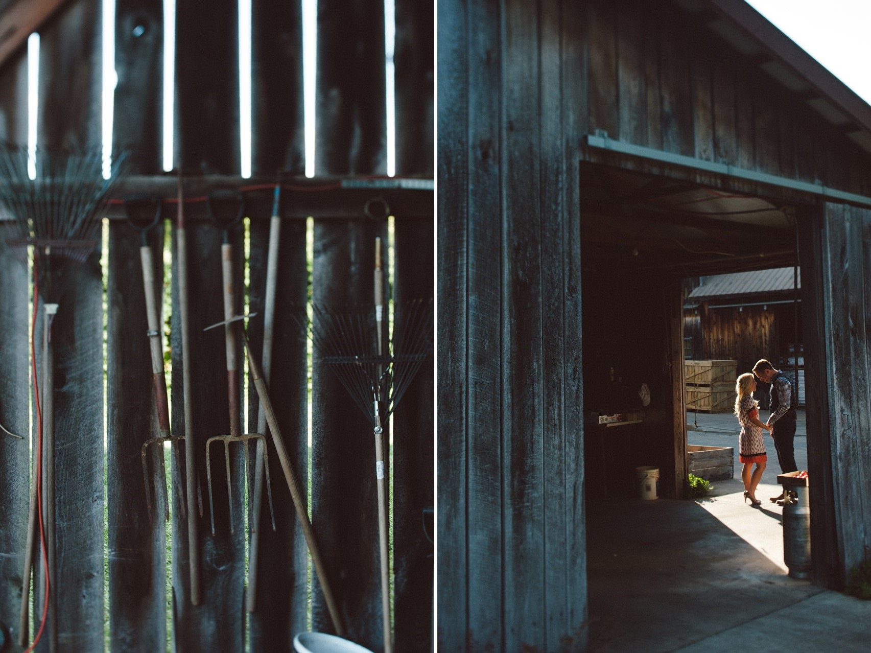 A Sweet Summer Apple Orchard Engagement Session